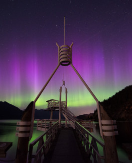 Northern Lights in Southern BC