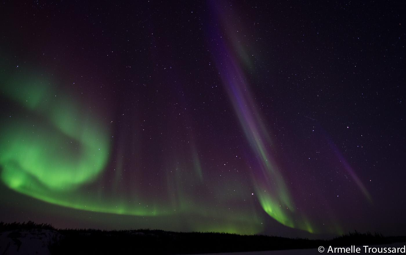 Aurora Borealis in the Northwest Territories, Canada