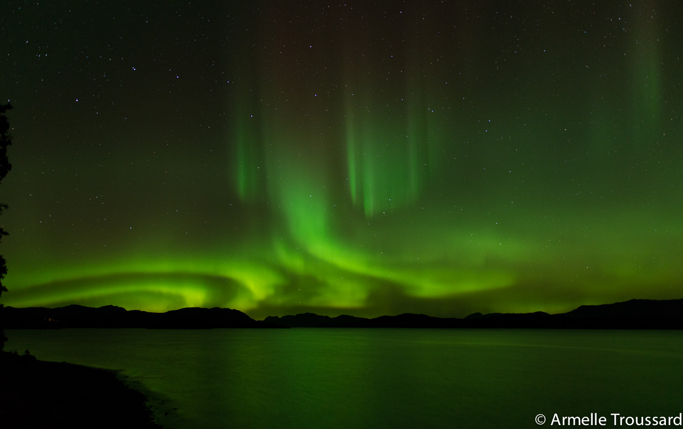 Aurora Borealis in the Yukon, Canada