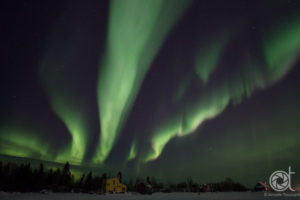 Aurora Borealis in Yellowknife NWT