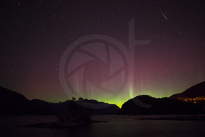 Howe Sound - Aurora and Meteor