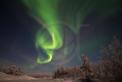 Aurora Borealis, Tibbit Lake