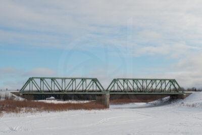 Hay River bridge